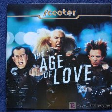 Discos de vinilo: THE AGE OF LOVE - SCOOTER. Lote 12979602