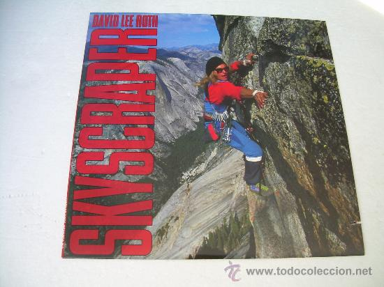 LP DAVID LEE ROTH SKYSRAPER VINILO (Música - Discos - LP Vinilo - Heavy - Metal)