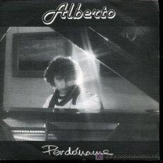 Discos de vinilo: ALBERTO - PERDONAME / NENA - 1986 - DEDICATORIA DEL CANTANTE POR DETRÁS. Lote 12931684