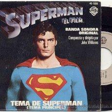 Discos de vinilo: SINGLE 45 RPM / SUPERMAN /// EDITADO POR HISPAVOX . Lote 22424715