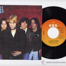 Discos de vinilo: RAQUEL. MOVIDA . 45 RPM. LA NOCHE ENTERA+EL FUTURO ES HOY. CBS AÑO 1987. Lote 191059545