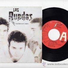 Discos de vinilo: LAS RUEDAS. 45 RPM. PROMOCIONAL. HACIENDO CASAS+HAZLO. FABRICA MAGNETICA . Lote 26898683