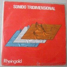 Disques de vinyle: RHEINGOLD - SONIDO TRIDIMENSIONAL - SINGLE ESPAÑOL 1980. Lote 12950278