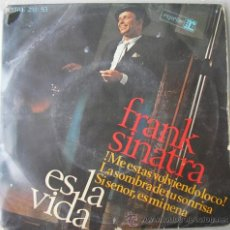 Discos de vinilo: FRANK SINATRA - ES LA VIDA - EP ESPAÑOL 1966. Lote 12950883