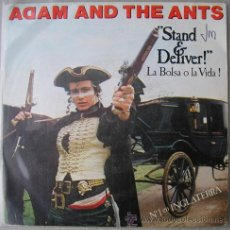 Discos de vinilo: ADAM AND THE ANTS - STAND AND DELIVER - SINGLE ESPAÑOL 1981. Lote 12951311