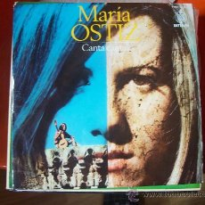 Discos de vinilo: MARIA OSTIZ - CANTA CANTA... - HISPAVOX. Lote 12951578