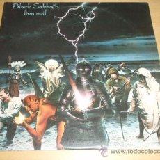 Discos de vinilo: BLACK SABBATH 'LIVE EVIL' (THE MOB RULES,HEAVENAND HELL,NEON KNIGHTS,BLACK SABBATH...) LP DOBLE. Lote 12956883