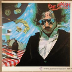 Discos de vinilo: JOE WALSH - BUT SERIOUSLY FOLKS... - LP 1978. Lote 12963752