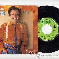 Discos de vinilo: HILARIO CAMACHO. 45 RPM. TAXI + SIN DAR LA CARA. MOVIEPLAY AÑO 1983. Lote 27257736