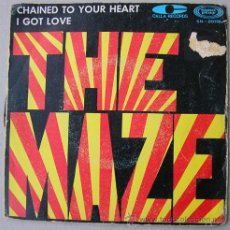 Discos de vinilo: THE MAZE - CHAINED TO YOUR HEART - SINGLE ESPAÑOL 1968. Lote 12965247