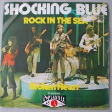 Discos de vinilo: SHOCKING BLUE - ROCK IN THE SEA - SINGLE ESPAÑOL 1973. Lote 12965288