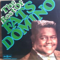 Discos de vinilo: FATS DOMINO ---- THE BEST OF. Lote 12968301