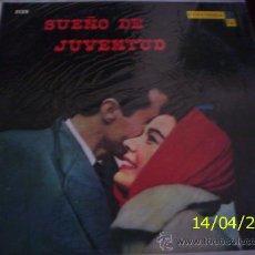 Discos de vinilo: LP ARGENTINO DE ARTISTAS VARIOS SUEÑO DE JUVENTUD AÑO 1958. Lote 27565033