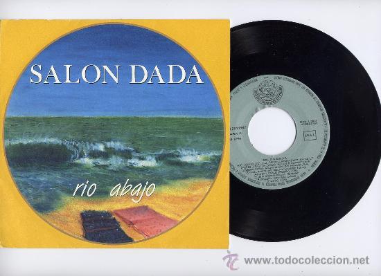 SALON DADA. 45 RPM. RIO ABAJO+EL INSTINTO. SOC.FONOGRAF.ASTURIANA AÑO 1986 (Música - Discos - Singles Vinilo - Grupos Españoles de los 70 y 80)