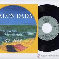 Discos de vinilo: SALON DADA. 45 RPM. RIO ABAJO+EL INSTINTO. SOC.FONOGRAF.ASTURIANA AÑO 1986. Lote 26922625