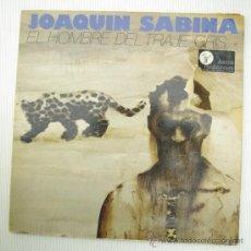 Discos de vinilo: DISCO LP JOAQUIN SABIANA EL HOMBRE DEL TRAJE GRIS. Lote 136632226