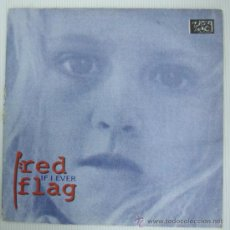 Discos de vinilo: RED FLAG DISCO LP VINILO. Lote 12975703
