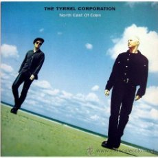 Discos de vinilo: THE TYRREL CORPORATION - NORTH EAST OF EDEN - LP UK 1992 - COOLTEMPO CTLP 29 - MINT. Lote 20798564
