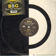 Discos de vinilo: BBG - JUST BE TONIGHT - MAXISINGLE - 1997. Lote 13016161