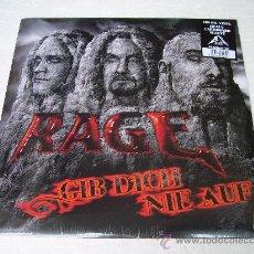 Discos de vinilo: LP RAGE GIB DICH NIE AUF VINILO. Lote 13896874