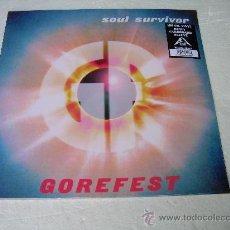 Discos de vinilo: LP GOREFEST SOUL SURVIVOR DEATH METAL VINILO. Lote 97284663