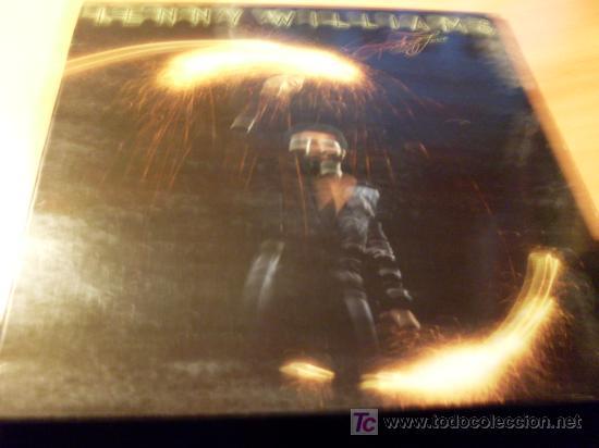 LENNY WILLIAMS ( SPARK OF LOVE) LP CARPETA DOBLE 1978 FRANCIA ( VG+ / VG+ )