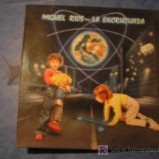 Discos de vinilo: MIGUEL RIOS LP LA ENCRUCIJADA AÑO 1984.. Lote 206140108