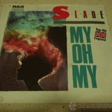 Discos de vinilo: SLADE 'TOP HIT ENGLAND' ( MY HO MY - KEEP YOR HANDS OFF MY POWER SUPPLY ) 1983-GERMANY SINGLE45. Lote 13048533