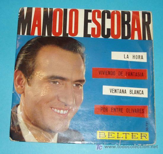 MANOLO ESCOBAR. BELTER. (Música - Discos de Vinilo - EPs - Flamenco, Canción española y Cuplé)