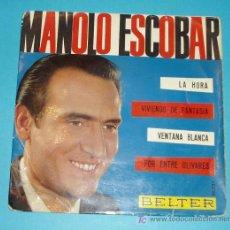 Discos de vinilo: MANOLO ESCOBAR. BELTER.. Lote 22607946