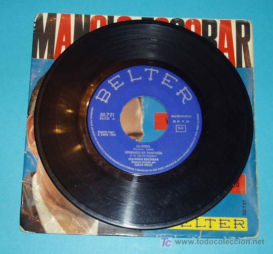 Discos de vinilo: MANOLO ESCOBAR. BELTER. - Foto 2 - 22607946