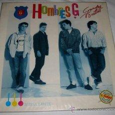 Discos de vinilo: ANTIGUO DISCO DE VINILO LP - HOMBRES G - GRANDES EXITOS - EN - INCLUYE DOS TEMAS INE. Lote 13063479