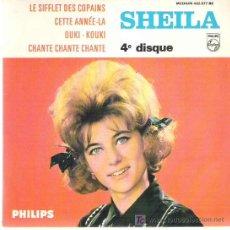 Discos de vinilo: SHEILA - LE SIFFLET DES COPAINS ** PHILIPS 1966 EP. Lote 13071520