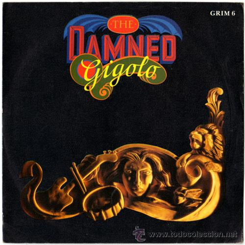 THE DAMNED - GIGOLO/THE PORTRAIT – SG UK 1986 – MCA GRIM 6 (Música - Discos de Vinilo - EPs - Pop - Rock - New Wave Internacional de los 80)