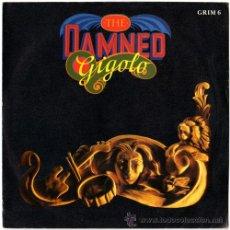 Discos de vinilo: THE DAMNED - GIGOLO/THE PORTRAIT – SG UK 1986 – MCA GRIM 6. Lote 17570892