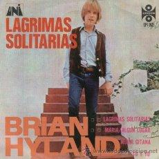 Disques de vinyle: BRIAN HYLAND - LONELY TEARDROPS - EP MUY RARO EDITADO EN MEJICO. Lote 13078376