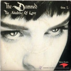 Discos de vinilo: THE DAMNED – THE SHADOW OF LOVE – DOBLE EP UK 1985 – MCA GRIM 2. Lote 17570958