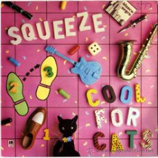 Discos de vinilo: SQUEEZE – COOL FOR CATS / MODEL – SG UK 1979 – MAS 7426. Lote 17571047