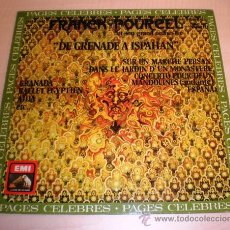 Discos de vinilo: FRANCK POURCEL Y SU ORQUESTA - DE GRANADA A ESPAÑA (LP EMI EDICIÓN ESPAÑOLA). Lote 27022127