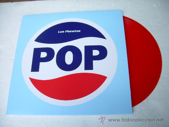 LP LOS PLANETAS POP EDICION LIMITADA VINILO ROJO ARAMBURU (Música - Discos - LP Vinilo - Grupos Españoles de los 90 a la actualidad)