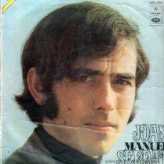Discos de vinilo: JOAN MANUEL SERRAT .. LP. Lote 13090467