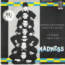 Discos de vinilo: MADNESS - BARCO NOCTURNO *** EP STIFF RECORDS 1979. Lote 13102505