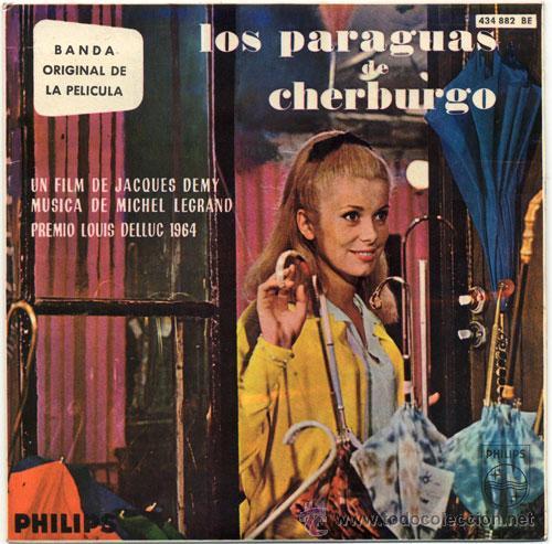 LOS PARAGUAS DE CHERBURGO (BSO) – EP SPAIN 1964 – PHILIPS 436 882 BE (Música - Discos de Vinilo - EPs - Bandas Sonoras y Actores)