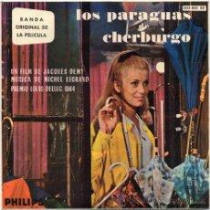 Discos de vinilo: LOS PARAGUAS DE CHERBURGO (BSO) – EP SPAIN 1964 – PHILLIPS 436 882 BE. Lote 19828591