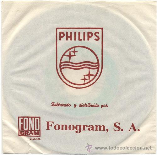 Discos de vinilo: Hoja protectora interior original. - Foto 3 - 19828591