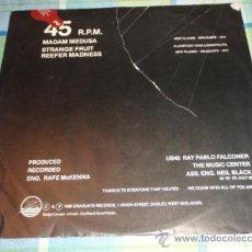 Discos de vinilo: UB40 ( MADAM MEDUSA - STRANGE FRUIT - REEFER MADNESS ) 1980 - SWEDEN MAXI45 GRADUATE RECORDS. Lote 13129912