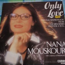 Discos de vinilo: NANA MOUSKOURI ( ONLY LOVE - MISTRAL'S DAUGHTER ) ENGLAND-1985 MAXI45 CARRERE RECORD. Lote 13136284