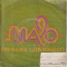 Disques de vinyle: DISCO SAN REMO -MALO - OYE MAMA - LATIN BUGALOO. Lote 13139456