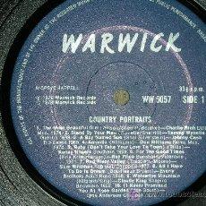 Discos de vinilo: COUNTRY PORTRAITS LP - WARWICK - ENGLAND - 1979 .- VARIOS. -. Lote 25858745