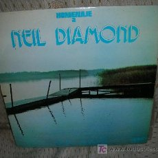 Discos de vinilo: HOMENAJE A NEIL DIAMOND-RON ADANS.. Lote 27425064